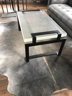 custom coffee table in Aspen