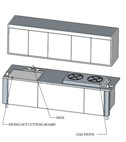 KITCHEN ORTHO- FRONT