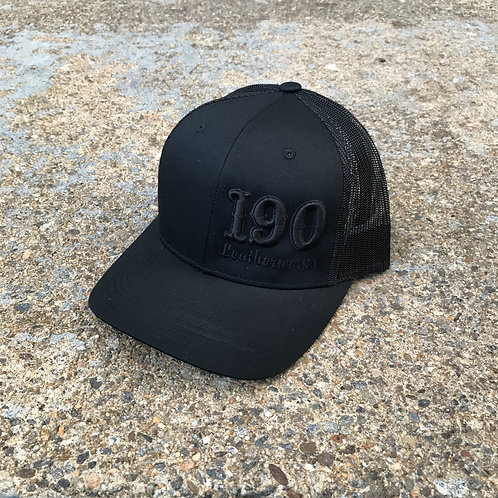 Murdered-Out Snap Back
