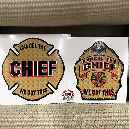 Cancel The Chief, We Got This!