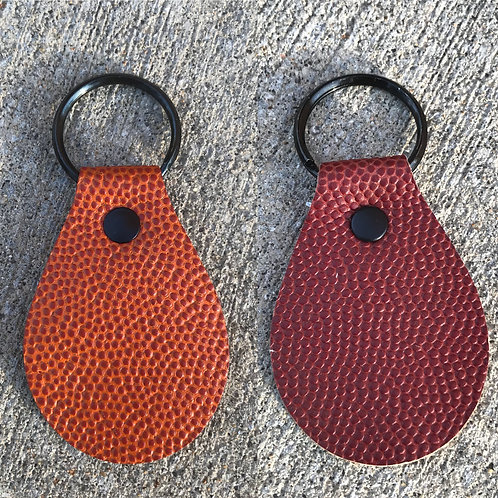 Sports themed key fobs