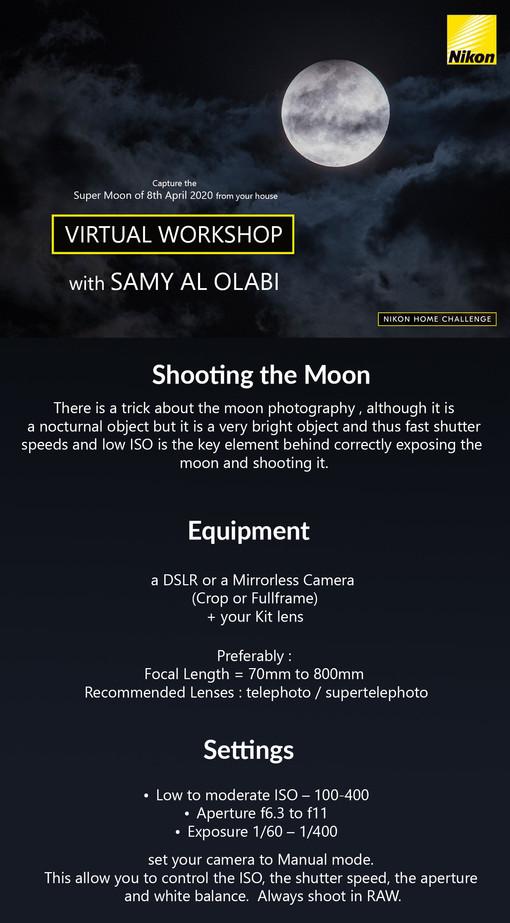 SuperMoon - Virtual Workshop with SamyOl