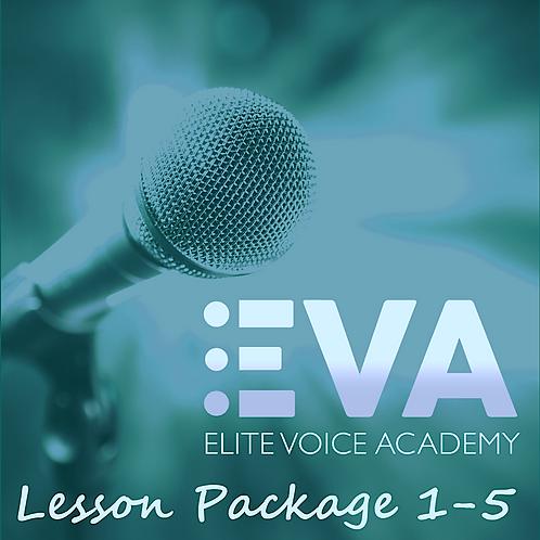 Singer Essentials Vol 1: Video Lessons 1-5