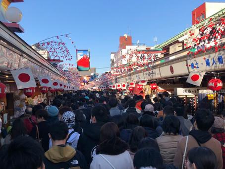 日本新年 初詣