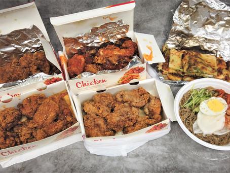 上野附近的 韓式炸雞、台灣大雞排