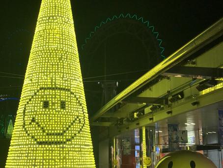 東京巨蛋 微笑聖誕樹
