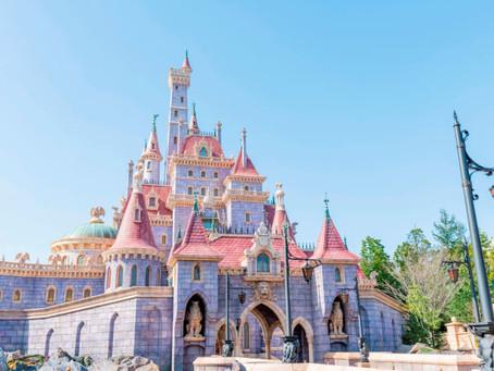 東京迪士尼《美女與野獸》城堡
