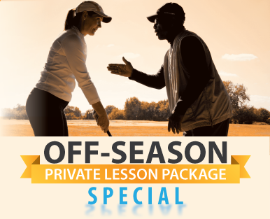 Expiration Extended to 6.30.20 --East Potomac Off-Season Private Lesson Package