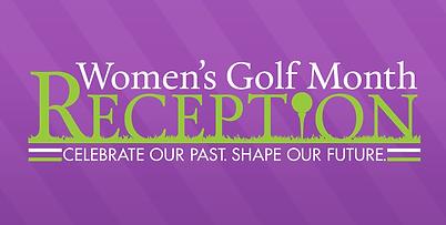 Women's Golf Month Reception
