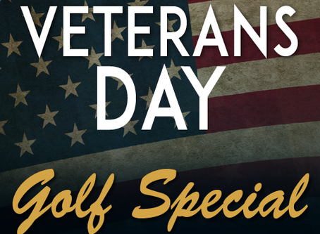 Veterans Day: Golf Special