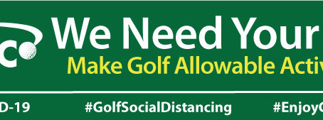 Your Feedback to ReOpen Golf in DC