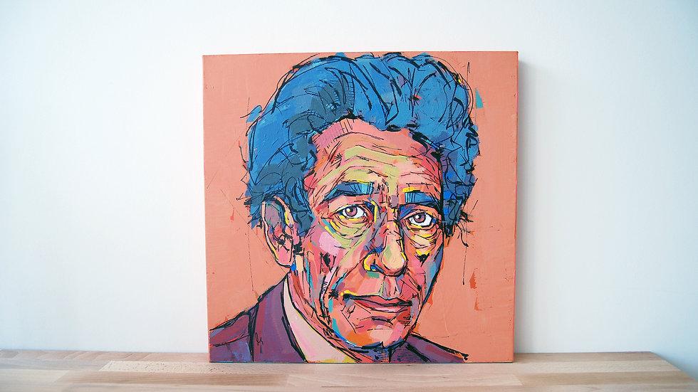 Blue Giacometti