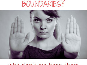What's up with boundaries?