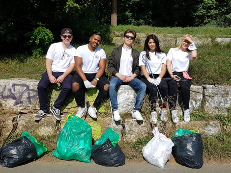 Inopia beim World Cleanup Day