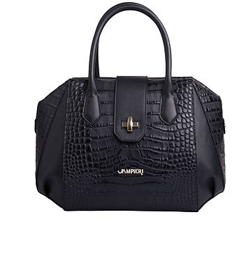 leather bag made in italy. Jampieri brand