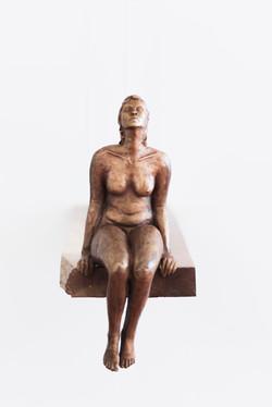 Sarah Walmsley_Morning_bronze_front