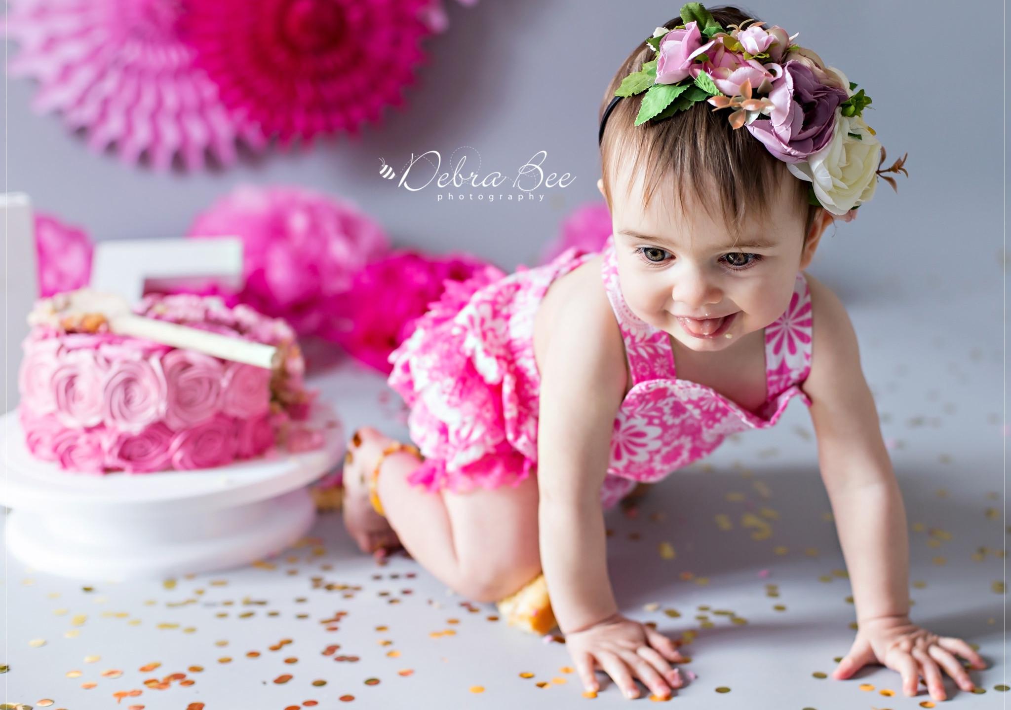 Cake Smash Photo Shoot