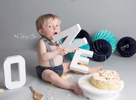 Teddy's Cake Smash