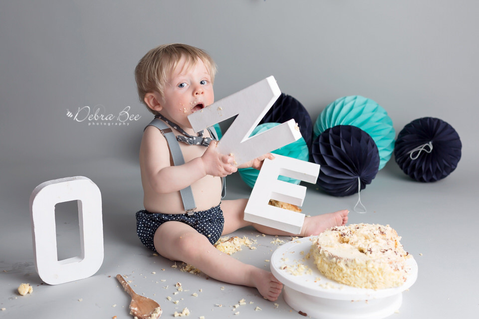 Cake Smash Session Photo