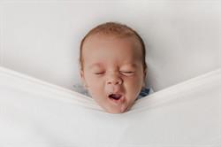 Sleepy Newborn Photo