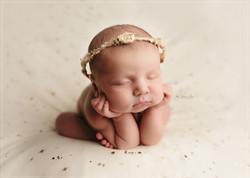 Newborn Photography Froggy Pose