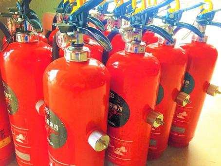 子供達も楽しんで参加できる消火訓練を。 子供向け消火訓練を開催!