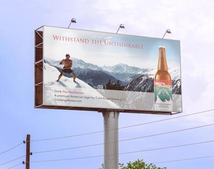 The Northerner Beer Billboard Ad