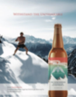 Magazine Ad Northerner Beer Label