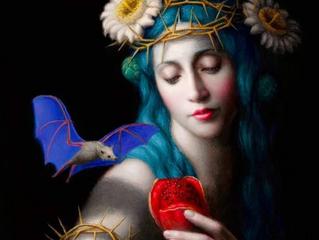 Venus Approaches Her Underworld Gate
