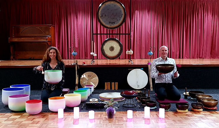 Andrew and Servane Sound Healing and Meditation