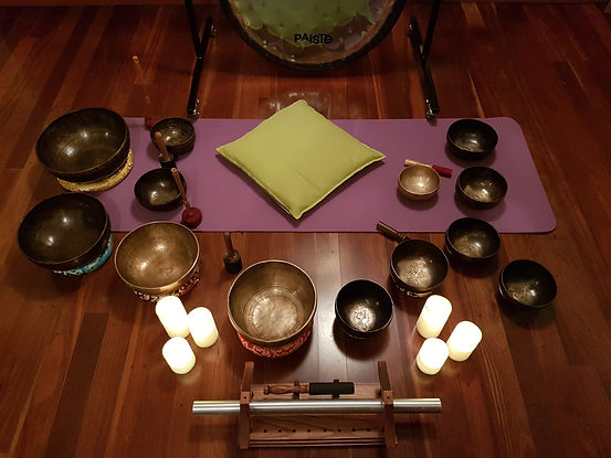 Tibetan Bowls and Gong
