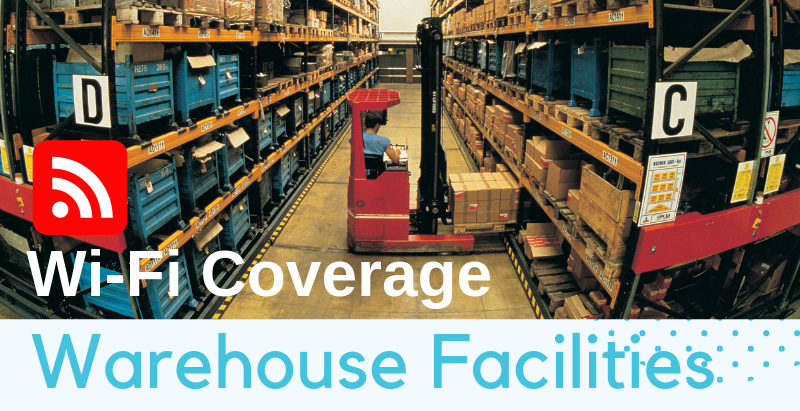 Wi-Fi coverage planning for warehouses