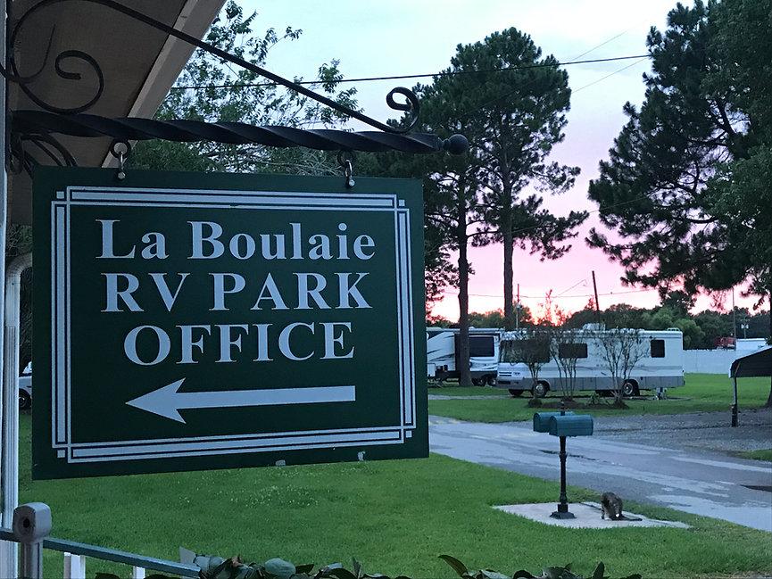 laboualie rv park, broussard, louisiana