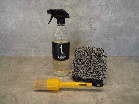 Product Update: New favourite petroleum degreaser, wheel mitt and detail brush!