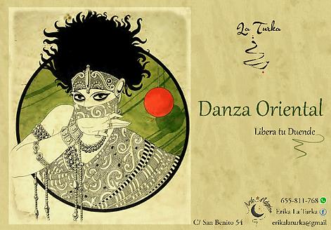 Danza oriental zona plaza castilla, danza oriental zona norte madrid, danza del vientre, erika la turka