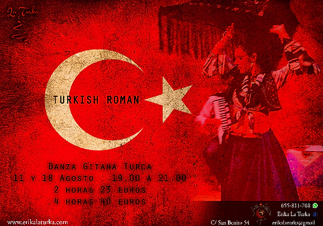 turkish roman, danza gitana turca, roman havasi, erika la turka, danzas gitanas madrid, danza gitana turca madrid