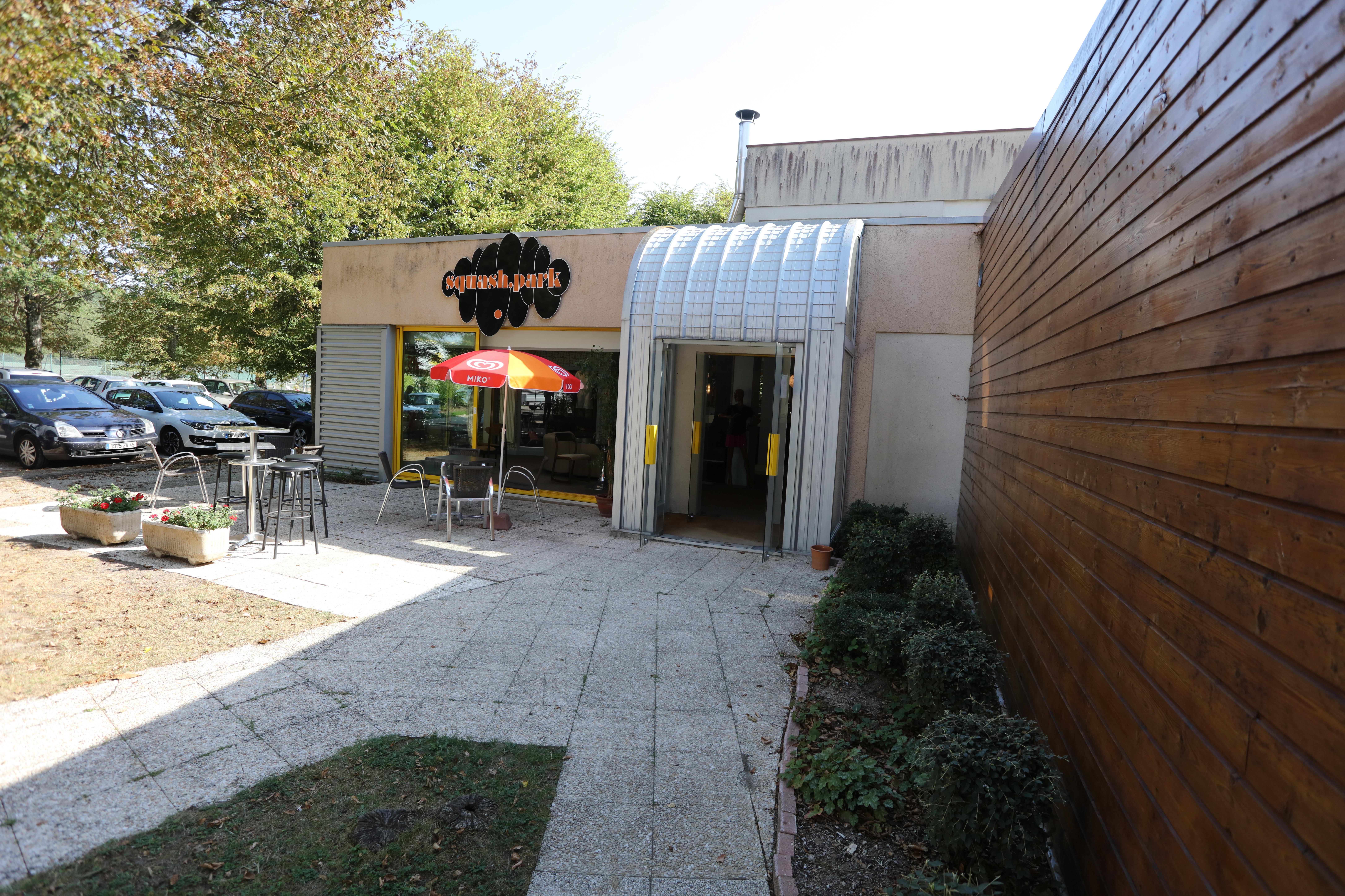 Entrée Squash Park