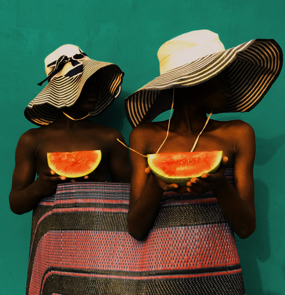 Life is like eating watermelon