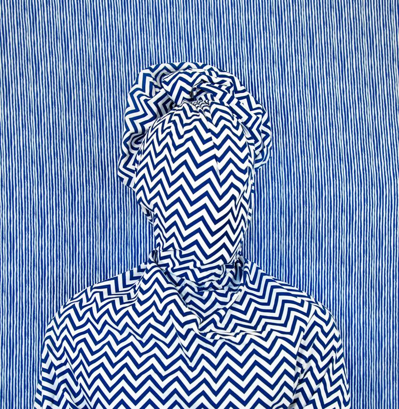 Alia Ali - Rain, Indigo Series, 2021