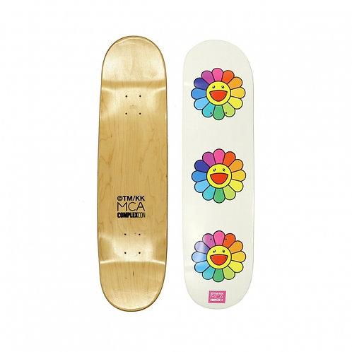 Takashi Murakami - Skateboard White flowers (Japon)