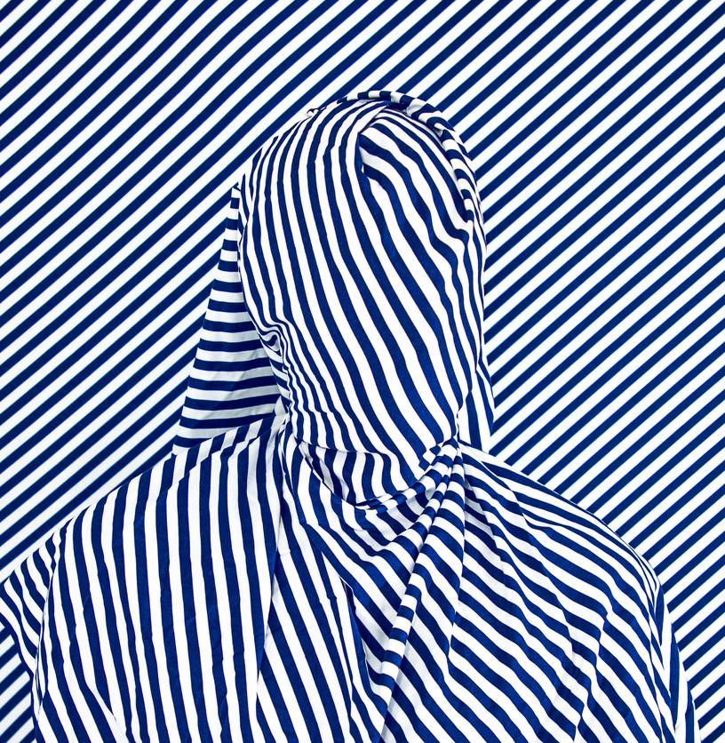 Alia Ali, Diagonal, Indigo Series, 2021