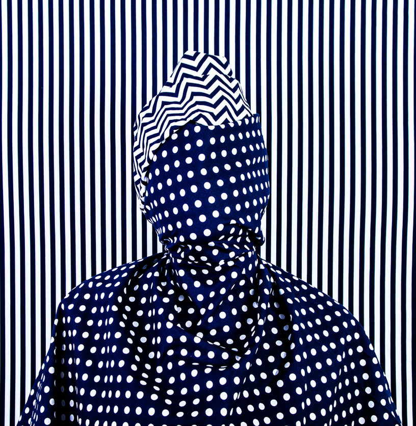 Alia Ali - Dots II, Indigo Series, 2021