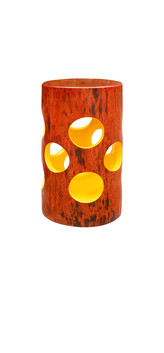 Jean Servais, Yellow wooden stool.jpg
