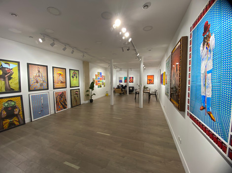 Colors of Africa exhibition view