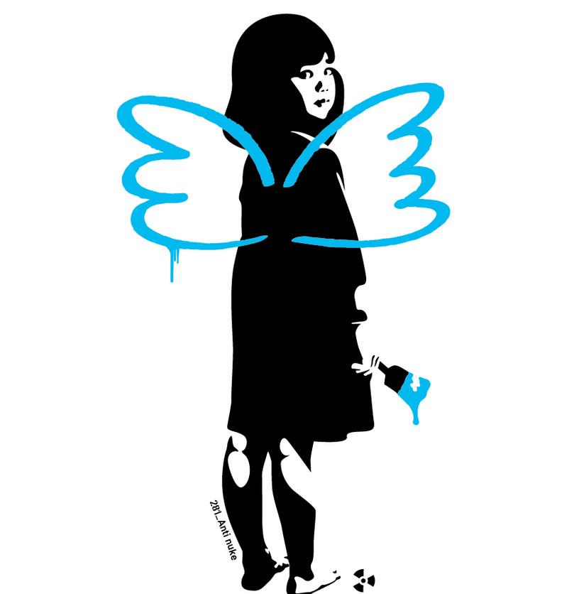 281 Anti Nuke, Fly away (Blue)