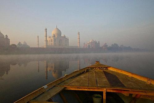 Wylda Bayrón - Amanecer en Agra (Inde)
