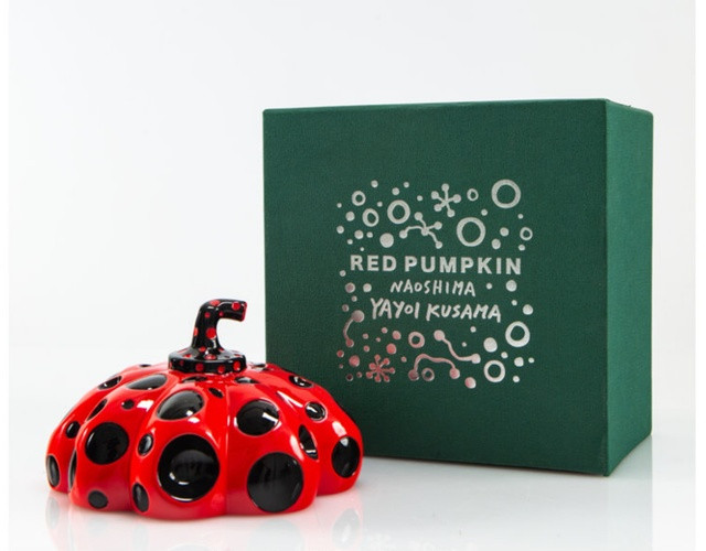 Naoshima Pumpkin - Red and Black, 2019