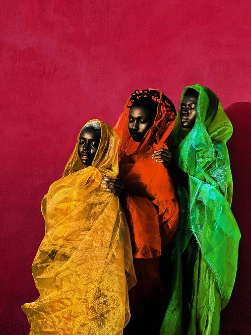 Derrick Ofosu Boateng - Three wise women (Ghana)