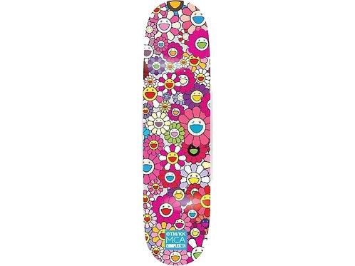 Takashi Murakami - Skateboard Pink flowers (Japon)