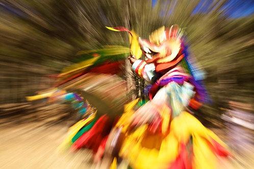 Wylda Bayrón - Bailarín Bhutanés (Bhutan)